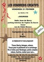 Présentation mercerie et tissu à Bourges - vendredi 21 février 2014