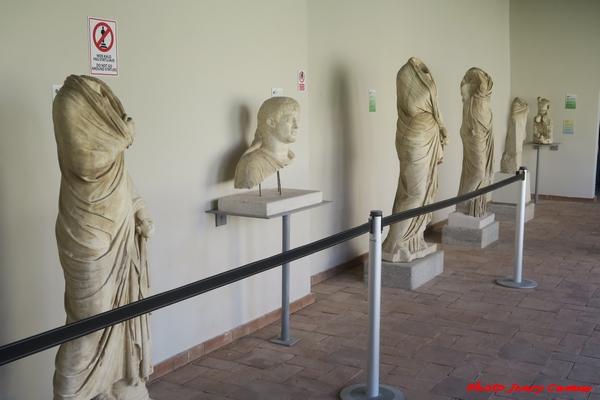 De Vix à Apollonia d'Illyrie, un parcours fait de belles découvertes pour Jenry Camus...