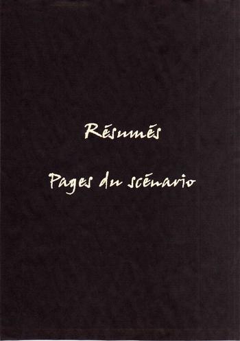 Intercal-Résumé&Pages de scénario
