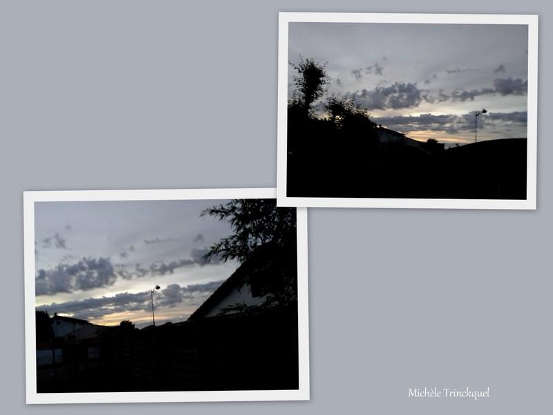 Le ciel au matin du 5 mai....