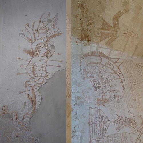 PALAIS PRISON GRAFFITI INQUISITION - 5