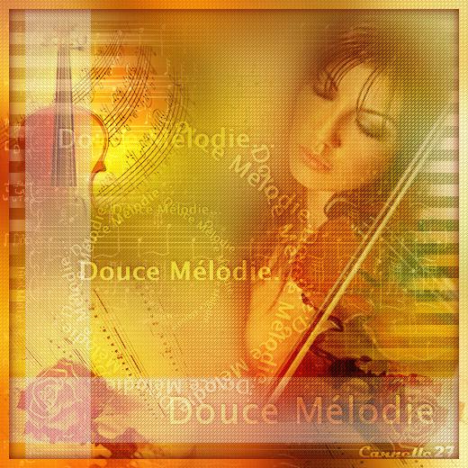 """""""Douce Mélodie'"""