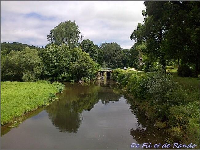 Le canal de Nantes à Brest : étape 10