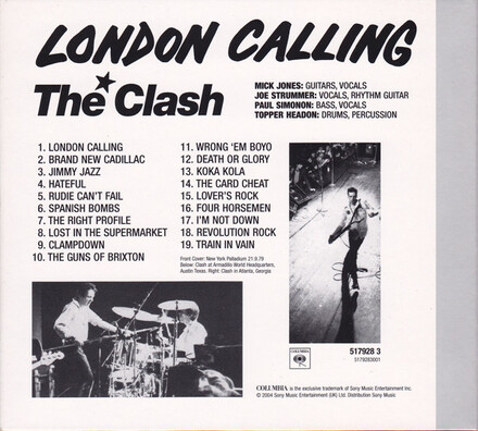 Mes indispensables # 18 : The Clash - London Calling - The 25th Anniversary Edition