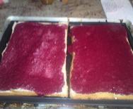 Double gâteau  mangue / framboise pour les 8 ans de Lily