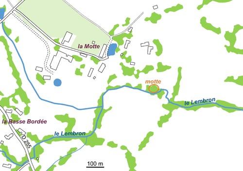 Les remparts de la Motte d'Athis (Orne)