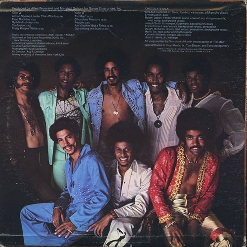 "Chocolate Milk : Album "" Action Speaks Louder Than Words "" RCA Victor Records APL1-1188 [ US ]"