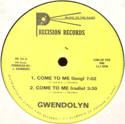 Gwendolyn - Come To Me