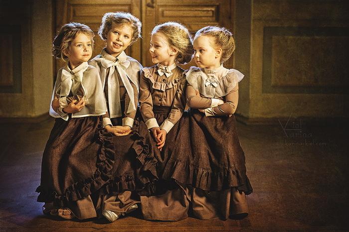 Le pays des merveilles pour les enfants: des photos magiques d'enfants par Karina Kiel