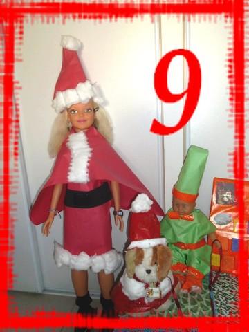 L'avent de Noël, 9ème boite du calendrier