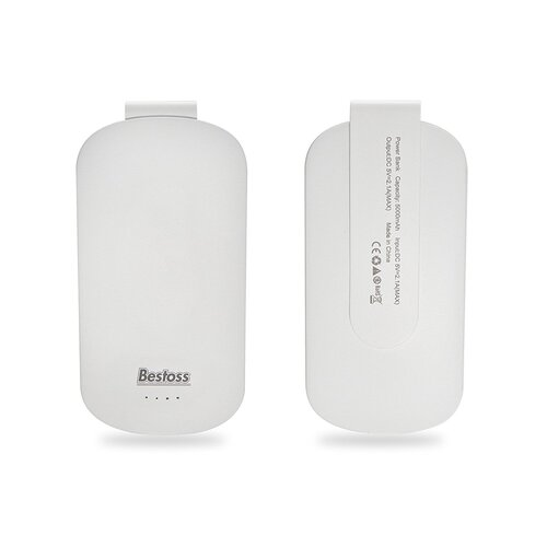 Bestoss 5000 mAh Batterie Externe avec clip