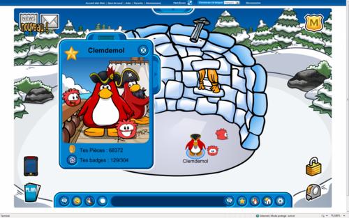 C'est mon penguin