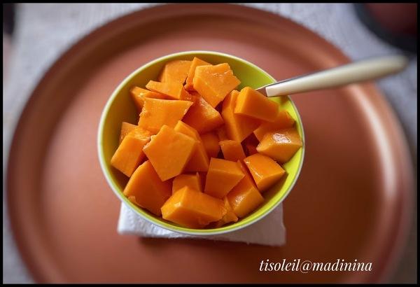 Un peu de vitamine - Papaye