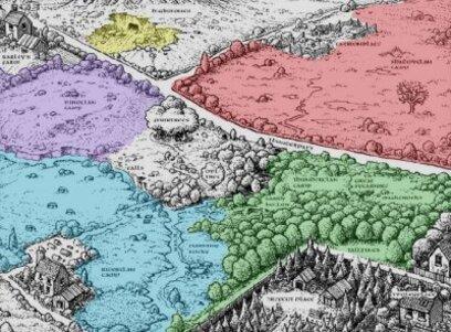 Le territoire de la forêt