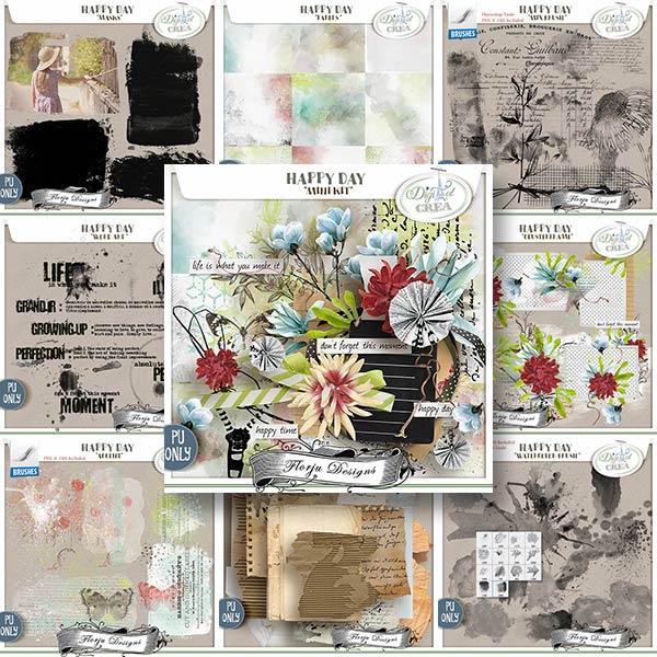 Happy Day { Bundle PU } by Florju Designs