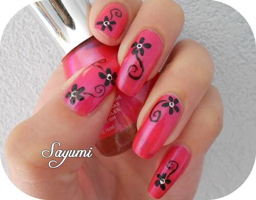 Nail Art Mini Fleurs