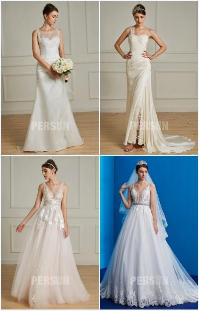 robes de mariée avec broderies 2019