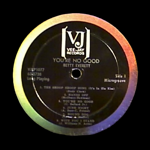 "Betty Everett : Album "" You're No Good "" Vee-Jay Records VJS 1077 [ US ]"