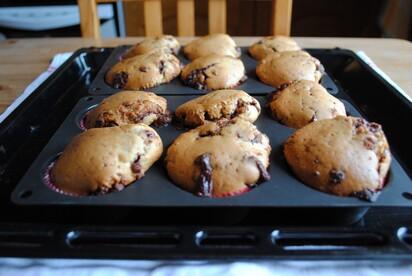 *** Muffins au Toblérone ***