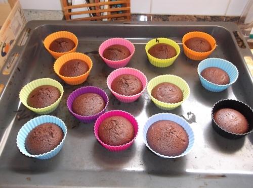 Mini-fondant au chocolat