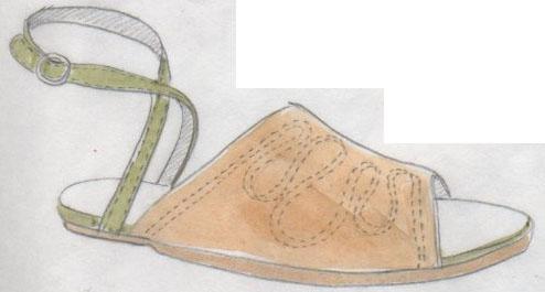 sandales, souliers
