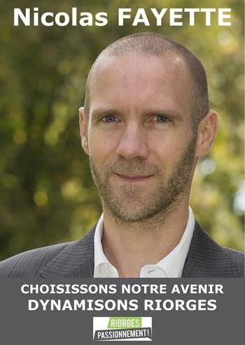 Affiche Nicolas Fayette