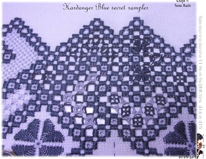The Blue Secret Hardanger Sampler 9