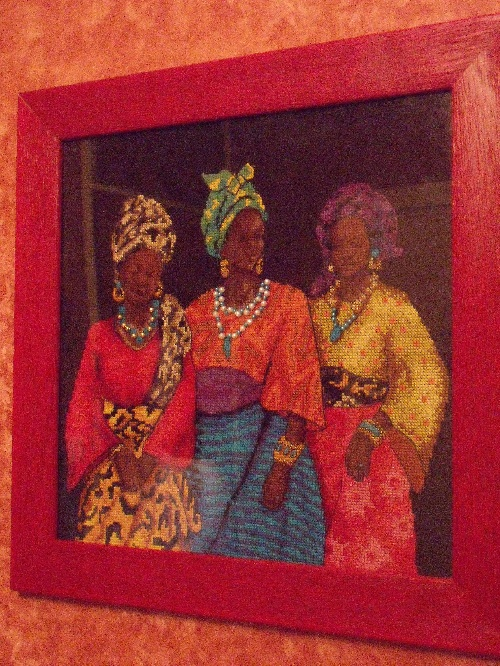 "Broderies ""Afrique"""