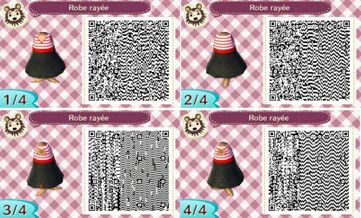 """Résultat de recherche d'images pour """"animal crossing new leaf qr code robe disney"""""""