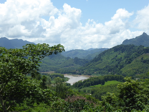 J9,en direction de Muang Ngoi, Laos