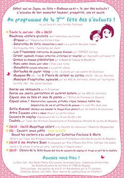 LA FÊTE DES Z'ENFANTS...2ème édition du festival pour les z'Enfants à Meyssac...Nous y serons !