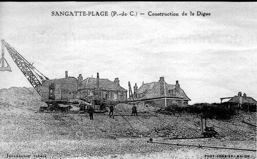 La digue de Sangatte renforcée à plusieurs reprises