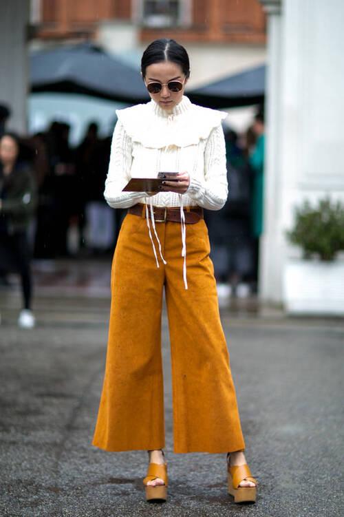 8 façons de porter le blanc cet hiver
