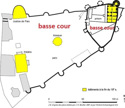 Mayenne, le château-musée, les pièces de jeux d'échecs et de trictrac