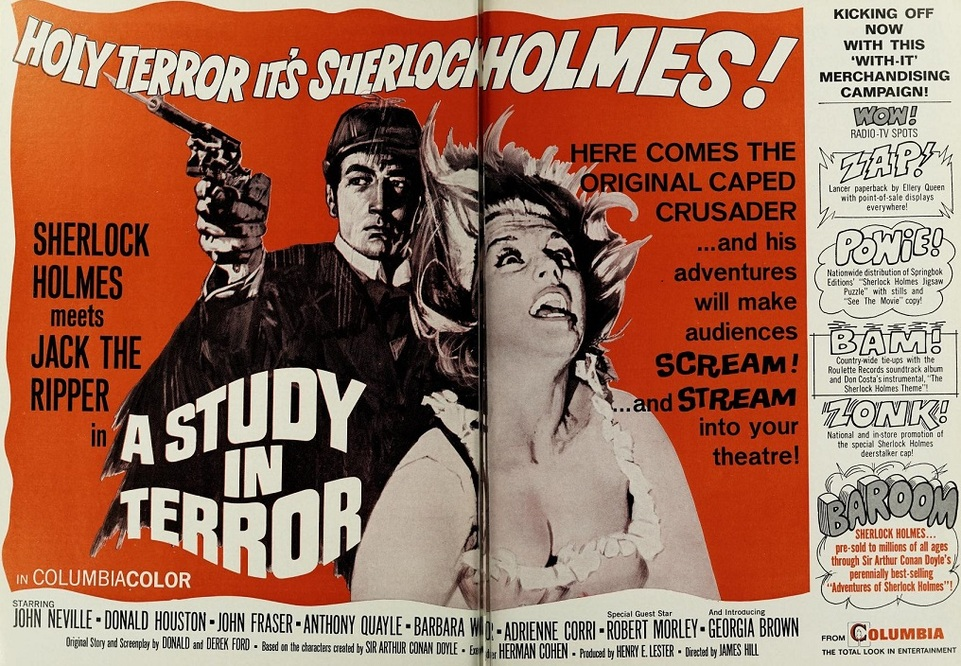 A STUDY IN TERROR BOX OFFICE USA 1966