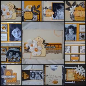 Kit Multi-album d'octobre de chez Variations Créatives.