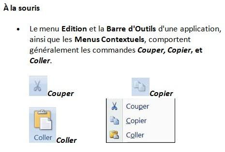 COPIER COLLER Définition