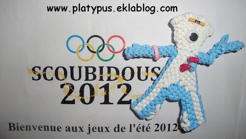 La mascotte des Jeux Olympiques 2012
