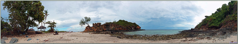 La presqu'île de Nosy Tsarabanjina - Archipel des Mitsio - Madagascar