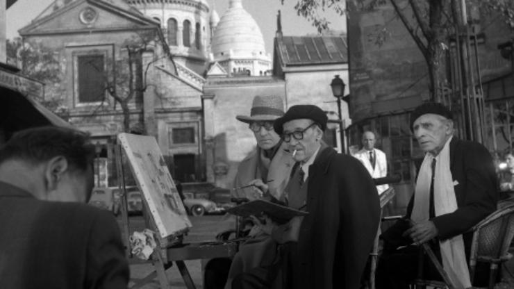 Montmartre : Cimetière Saint Vincent : Maurice Utrillo