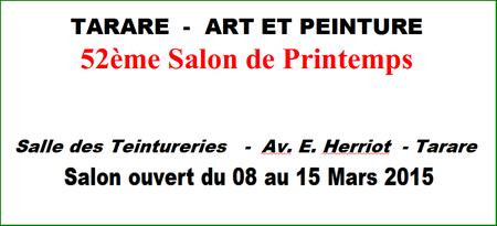 Expo art et peinture Tarare mars 2015