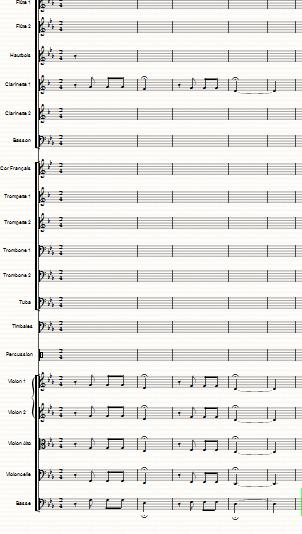 Blog de colinearcenciel :BIENVENUE DANS MON MONDE MUSICAL, Les premiers instruments utilisés dans les premières mesures de la Symphonie V de BEETHOVEN