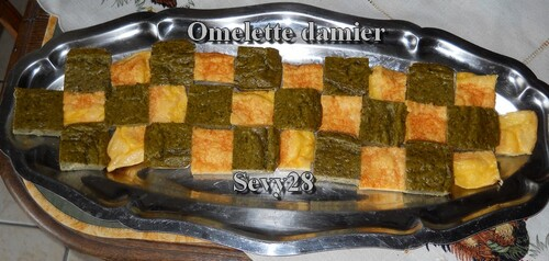Omelette, oseille, thermomix