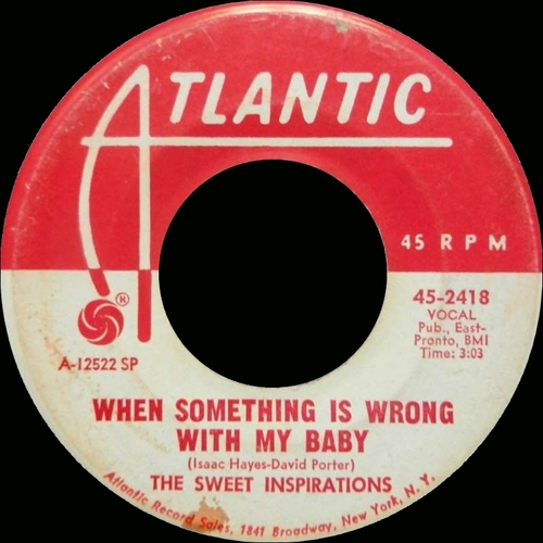 "The Sweet Inspirations : Album "" The Sweet Inspirations "" Atlantic Records SD 8155 [ US ]"