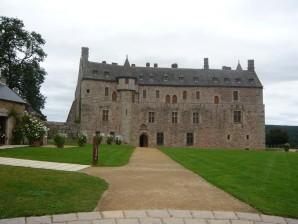 Ploézal - Château de la Roche Jagu