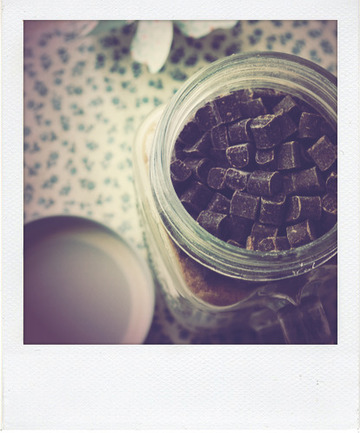 Crème glacée express au chocolat au lait