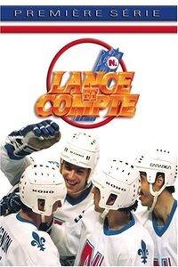 Lance et compte : Cette série met en scène les hauts et les bas d'une équipe de hockey professionnelle fictive, le National de Québec, et suit la vie de ses joueurs, entraîneurs, etc., en particulier celle de la recrue étoile Pierre Lambert. L'équipe et les aventures des joueurs étaient parfois inspirées d'événements d'actualité réels, ce qui créa une confusion chez certains téléspectateurs entre l'émission et la réalité de la vie des joueurs de hockey. ... ----- ...  Langue du Film: VFQ Diffusion d'origine: 1986-2015 Nationalité: Québec Canada Genre: Série sportive Drame Cast: réalisée par Jean-Claude Lord puis Richard Martin, Acteurs : Carl Marotte, Marc Messier, Marina Orsini, Yvan Ponton, Michel Forget, Denis Bouchard