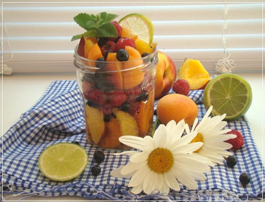 SALADE JAR AUX FRUITS
