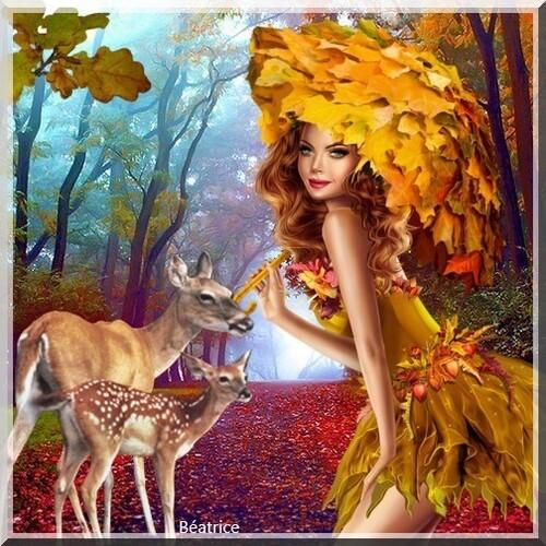 mes divers créations de l'automne