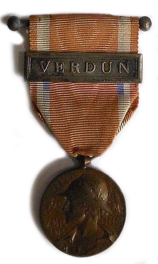 Médaille commémorative de Verdun 14/18